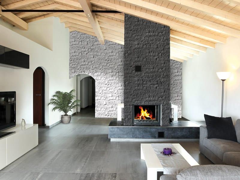 Rivestimento tridimensionale in pietra ricostruita per - Pietre da rivestimento interno ...