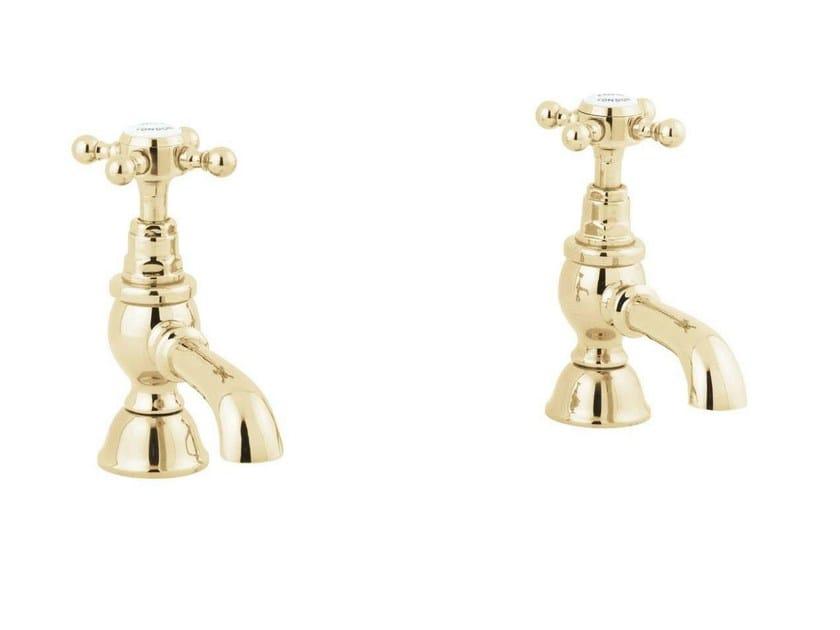 2 hole brass washbasin tap MAYFAIR | 2 hole washbasin tap - GENTRY HOME