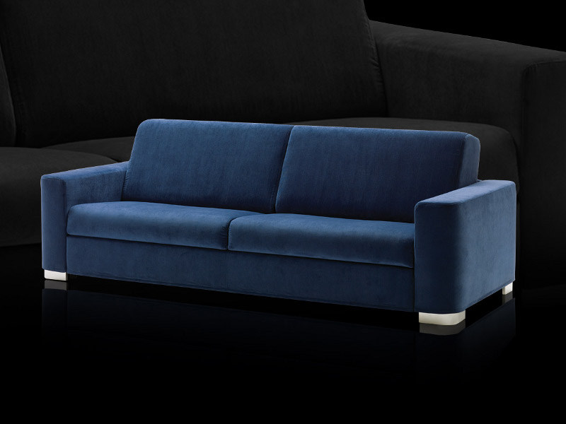 Divano letto sfoderabile in tessuto henry collezione sofa for Divano letto ribaltabile
