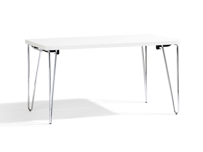 Folding table CLIP - Blå Station