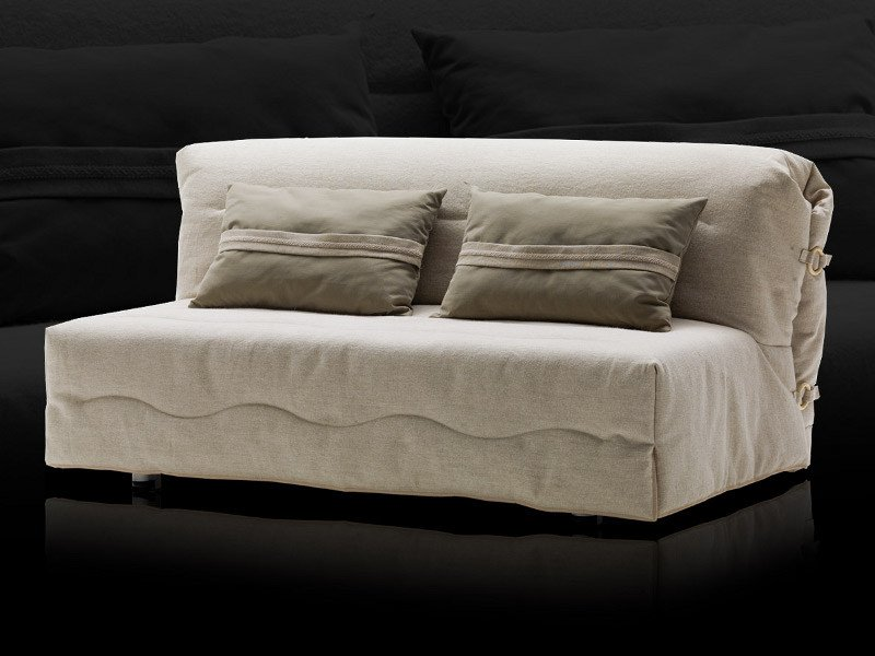 Fabric sofa bed with removable cover ROGER - Milano Bedding