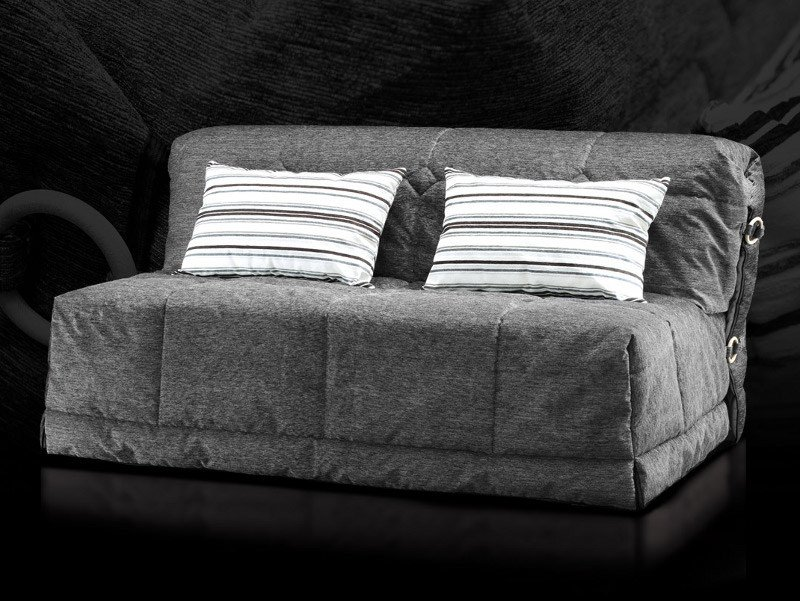 Fabric sofa bed with removable cover GIL by Milano Bedding