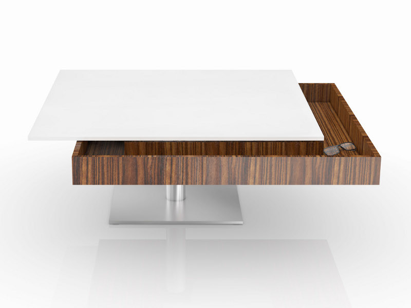 Low coffee table APOLLO | Coffee table by Ronald Schmitt
