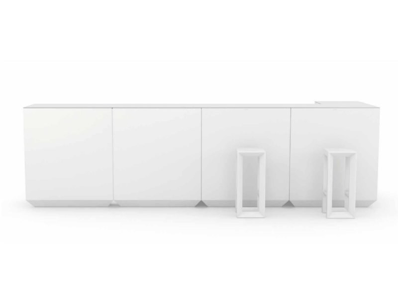 Illuminated bar counter VELA | Bar counter - VONDOM