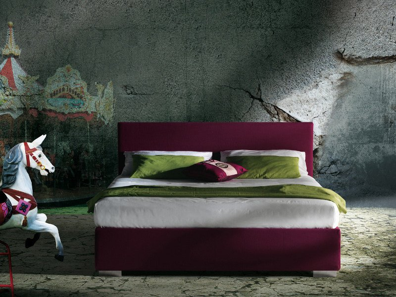 Fabric bed with removable cover PACIFIC - Milano Bedding