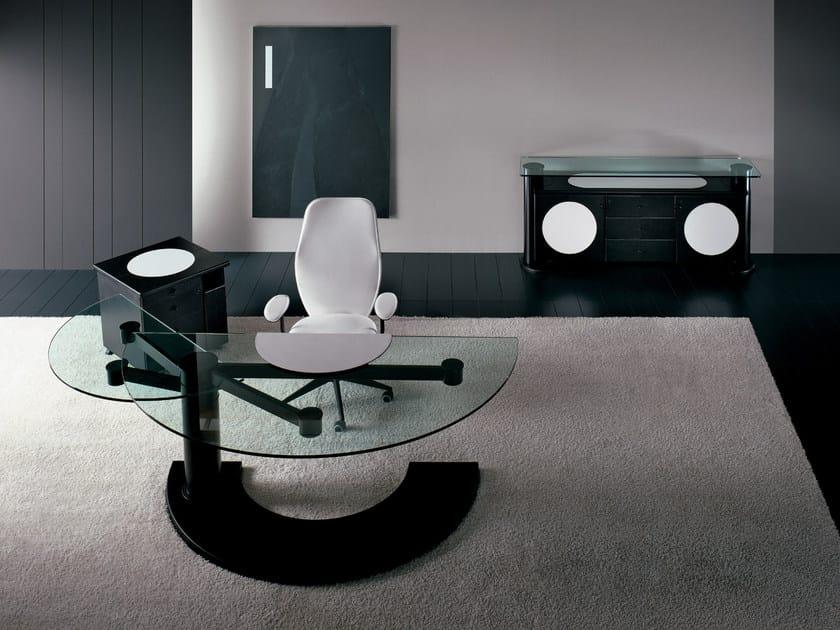 Round executive desk ARKITRE | Executive desk - i 4 Mariani
