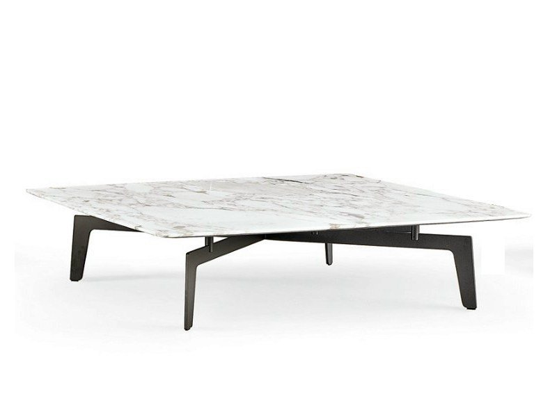 Square marble coffee table