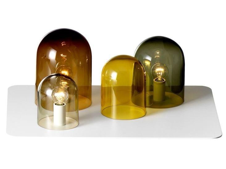 Glass table lamp LIGHT TRAY - ASPLUND