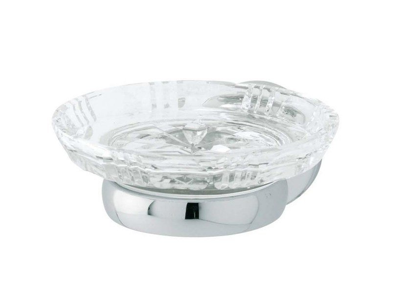 Crystal soap dish OXFORD | Crystal soap dish - GENTRY HOME