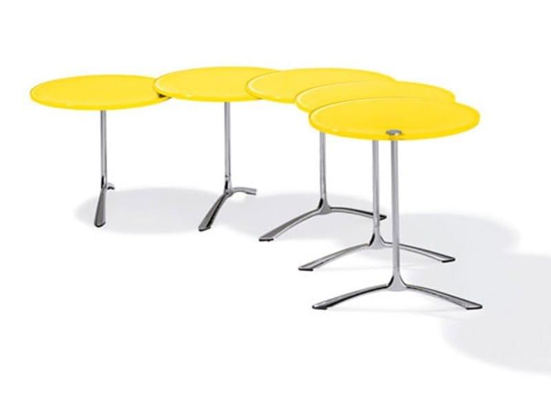 Lacquered aluminium coffee table K 520 | Coffee table - Ronald Schmitt