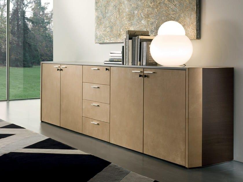 Low modular office storage unit DE_SYMETRIA | Office storage unit - i 4 Mariani
