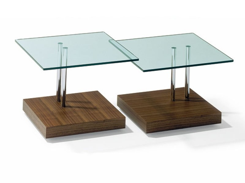 Square coffee table for living room K 425 | Coffee table - Ronald Schmitt