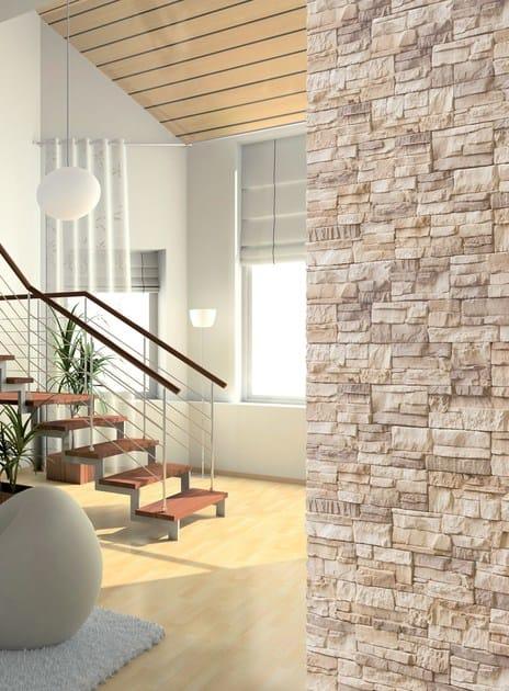 Rivestimento effetto pietra atlas weser for Rivestimento pareti interne polistirolo