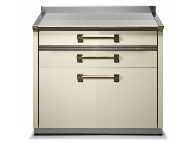 Kitchen unit with drawers ASCOT | Kitchen unit - Steel
