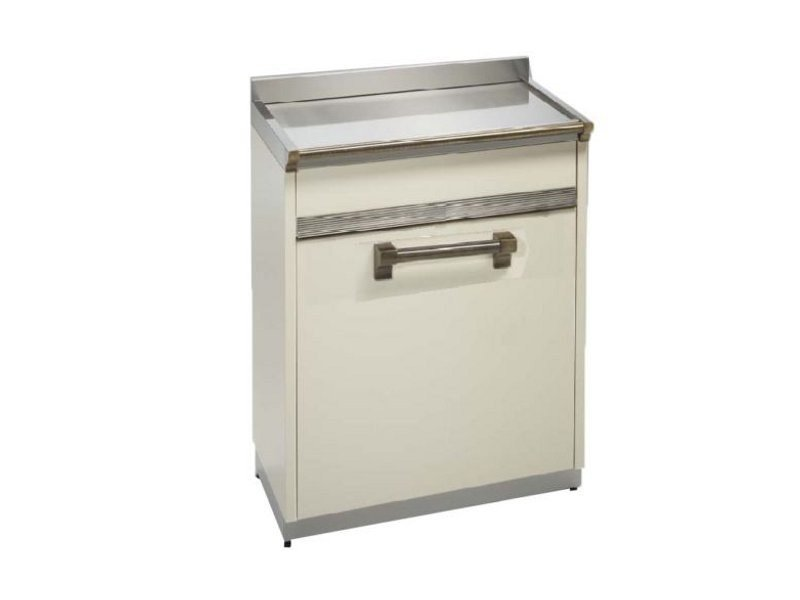 Stainless steel dishwasher / kitchen unit ASCOT | Dishwasher - Steel