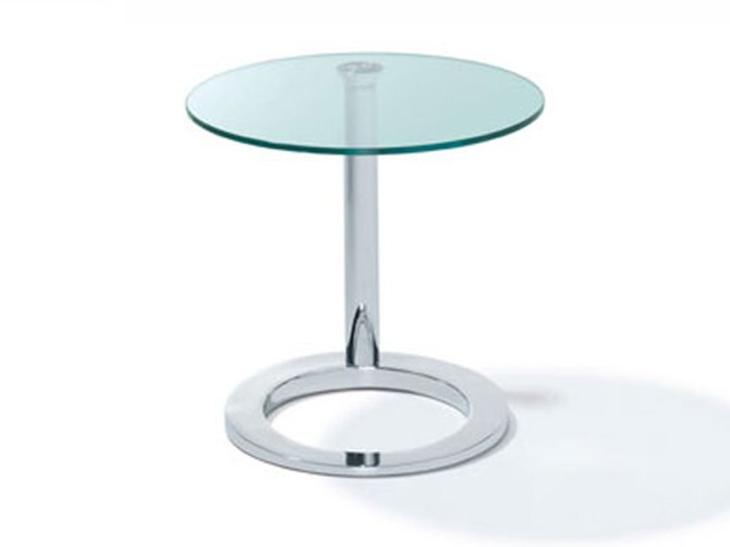 Height-adjustable round coffee table K 442 | Coffee table by Ronald Schmitt