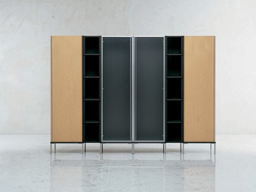 Tall modular office storage unit RIBBON | Office storage unit - i 4 Mariani