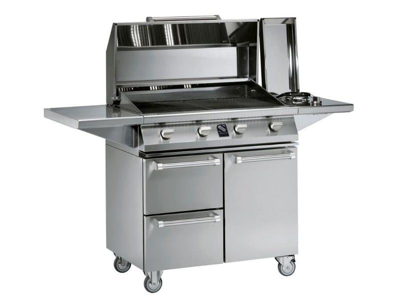 Gas barbecue CADDIE - Steel
