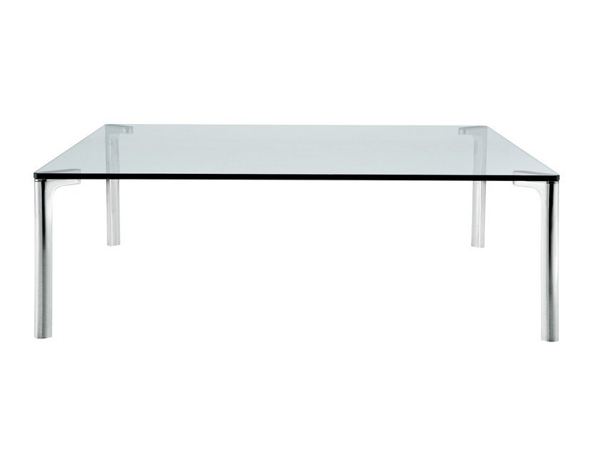 Rectangular crystal coffee table SPILLINO 678 - Zanotta