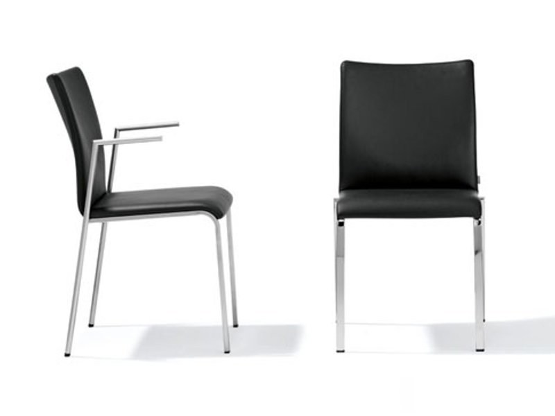Leather chair SAM – RST 118 - 119 - Ronald Schmitt
