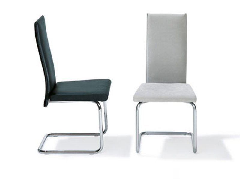 Cantilever high-back chair RST 18 - 19 by Ronald Schmitt