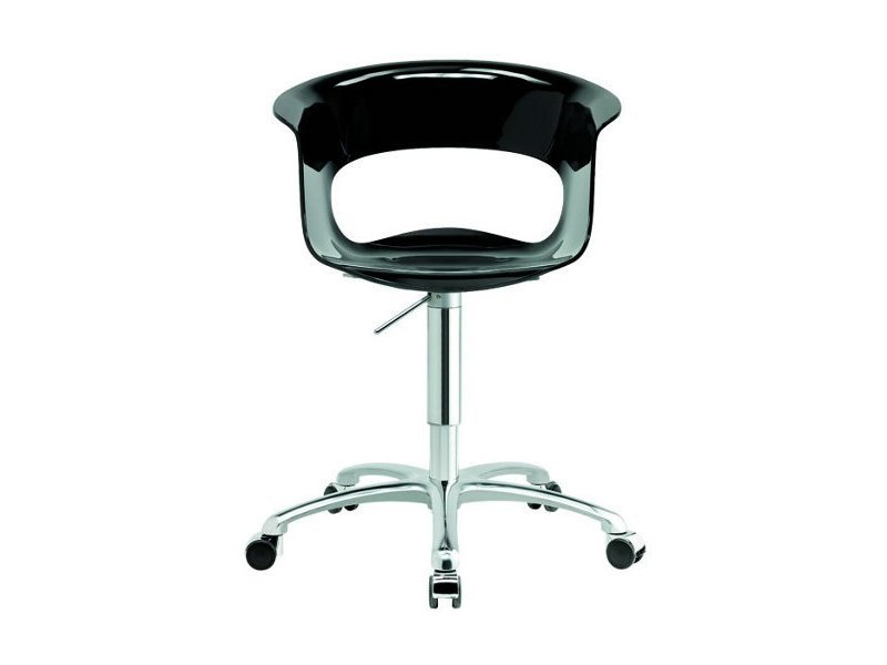 Swivel task chair with 5-Spoke base MISS B OFFICE ANTISHOCK - SCAB DESIGN