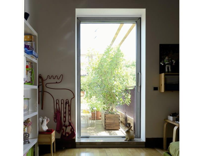 Porta finestra a taglio termico in acciaio mogs 65 tt - Aeratore termico per finestra ...