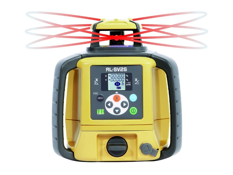 Optical and laser level TOPCON RL-SV2S - Topcon Positioning Italy