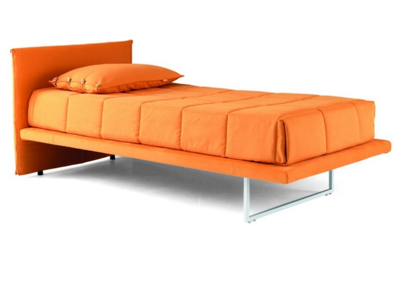 Upholstered fabric bed FLEXY   Upholstered bed - Zalf