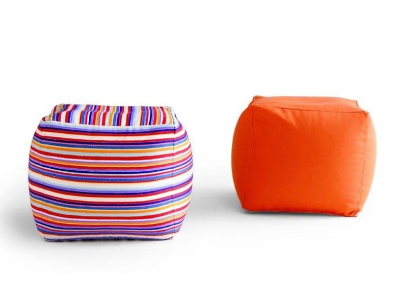 Upholstered pouf GEL - Zalf