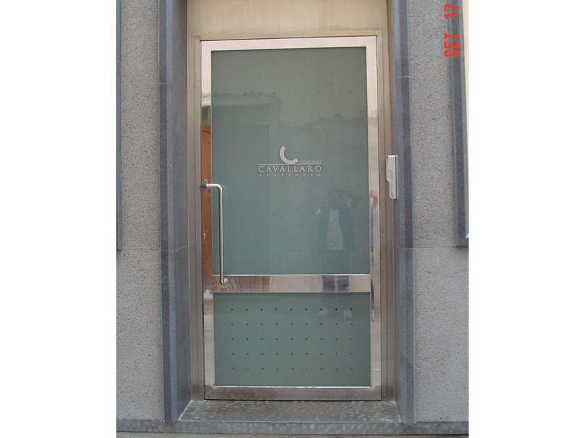Exterior entry door INOSSIDABILE® | Entry door - Mogs srl unipersonale
