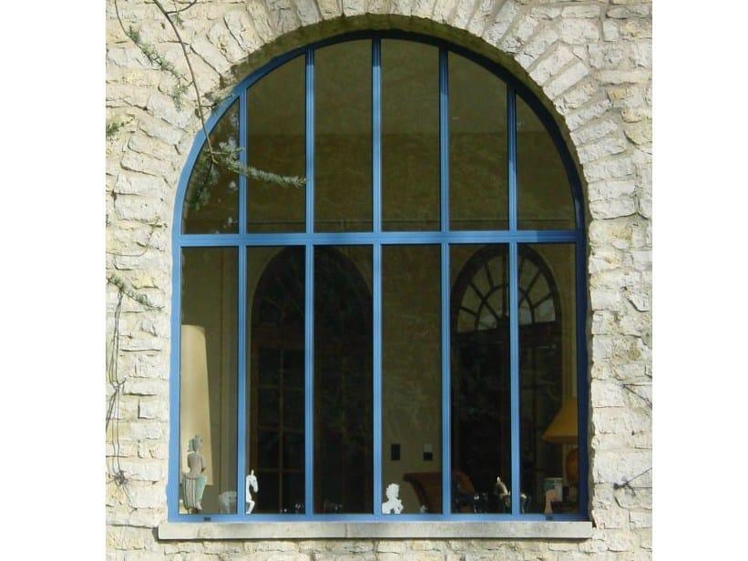 Finestra con doppio vetro in acciaio acciaiofinestra by mogs - Finestre a doppio vetro ...
