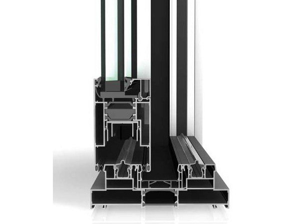 Lift and slide window WICSLIDE 160 by WICONA