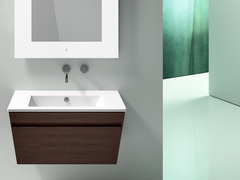 Rectangular ceramic washbasin STAR 80 | Washbasin - CERAMICA CATALANO