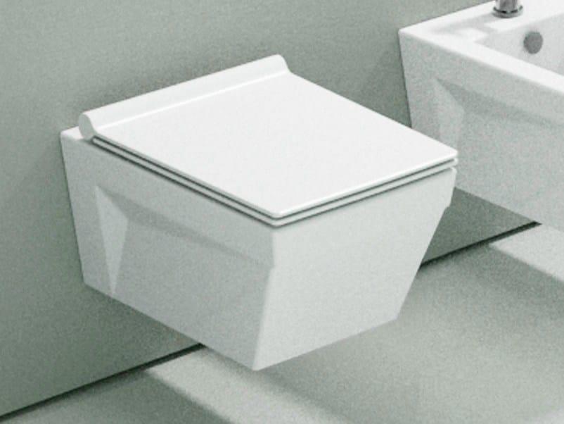 Wall-hung ceramic toilet STAR 55 | Toilet - CERAMICA CATALANO