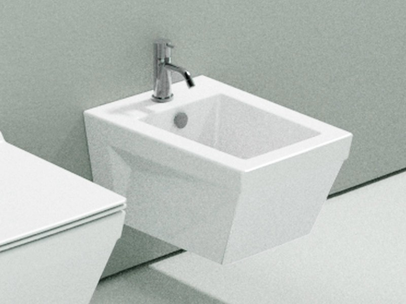 Wall-hung ceramic bidet STAR 55 | Bidet - CERAMICA CATALANO