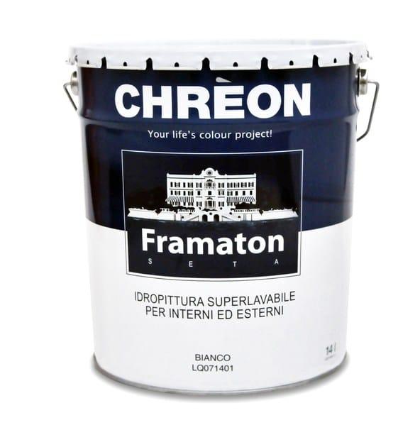 Washable water-based paint FRAMATON SETA - Chrèon Lechler