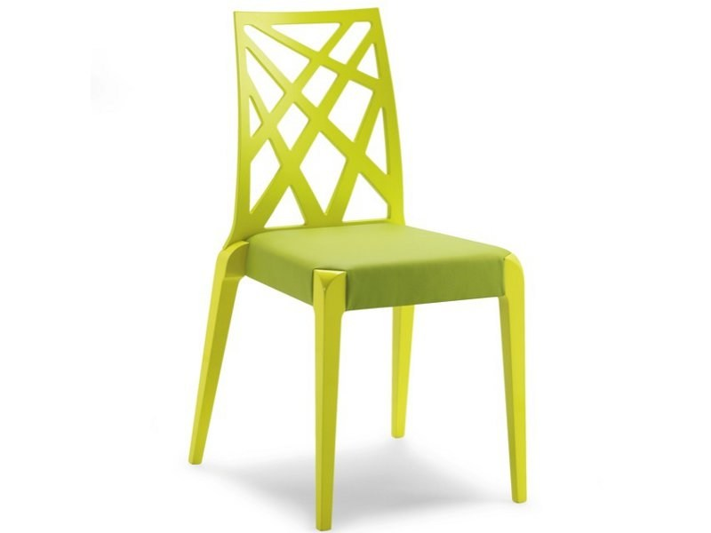 Stackable beech chair SENDY | Stackable chair - CIZETA