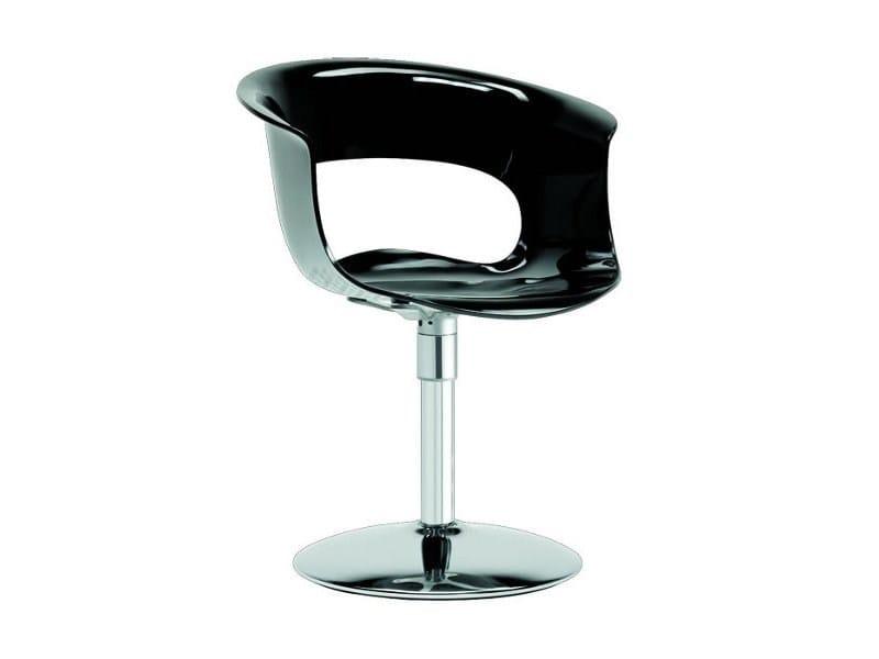 Ergonomic swivel chair MISS B TWIST ANTISHOCK by SCAB DESIGN