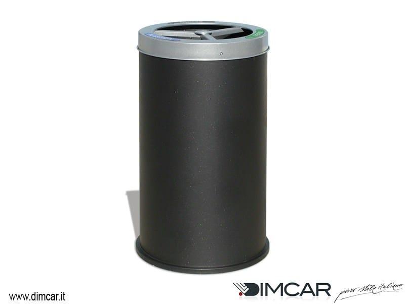 Outdoor steel waste bin for waste sorting Cestone Elios - DIMCAR