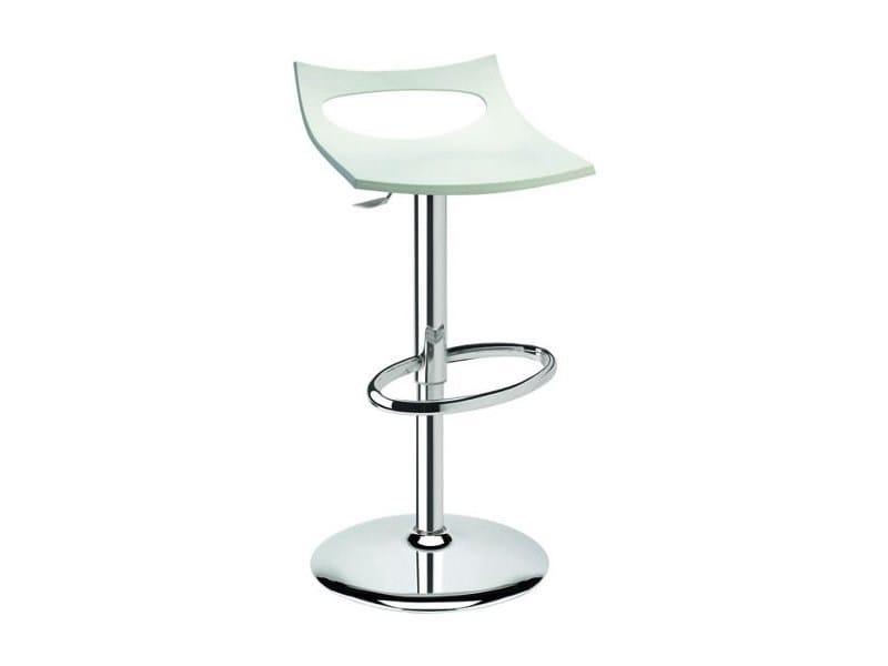 Height-adjustable swivel stool DIAVOLETTO - SCAB DESIGN