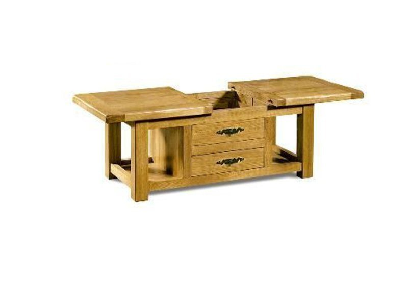 Extending wooden coffee table VENEZIA | Coffee table - Domus Arte