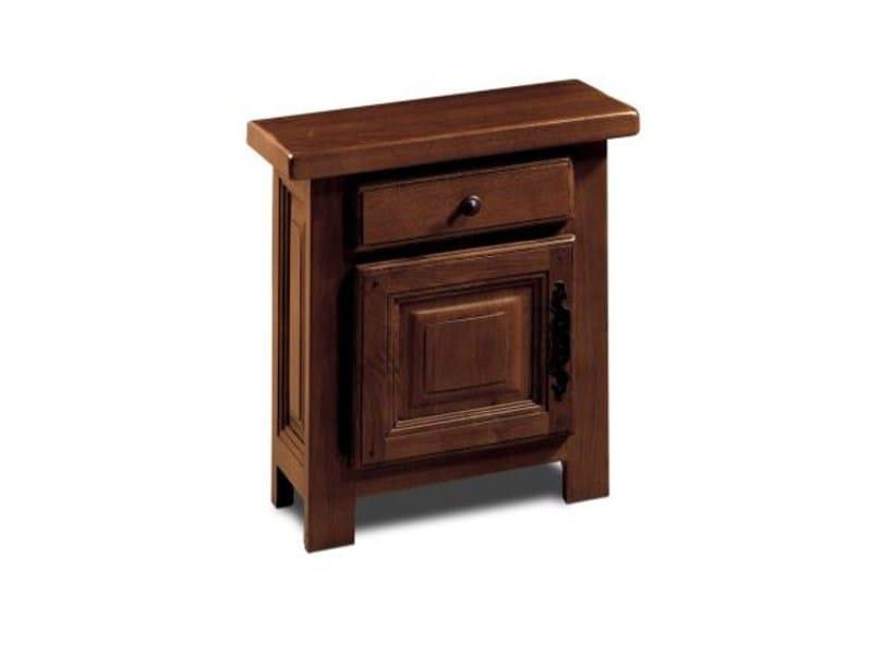 Wooden bedside table VANDÈE | Bedside table by Domus Arte