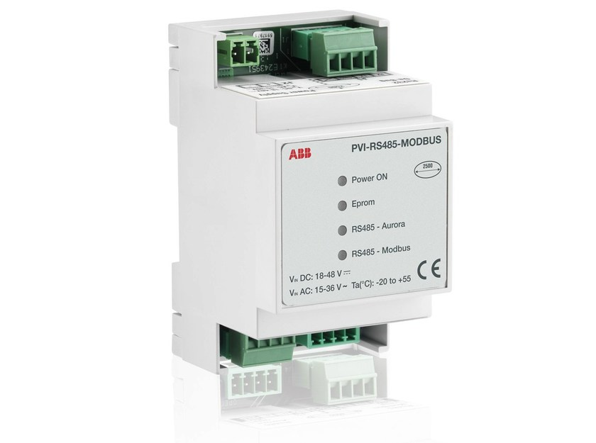 Monitoring system for photovoltaic system PVI RS485-MODBUS - ABB