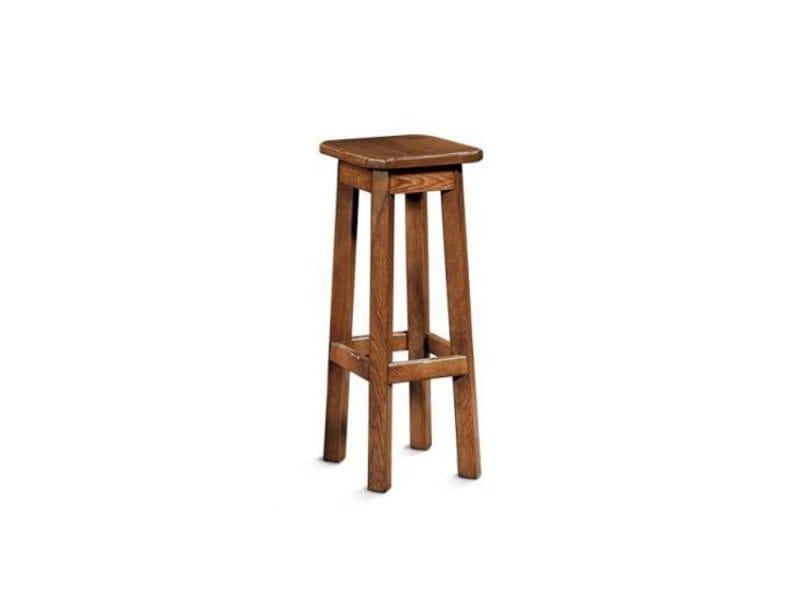 Wooden stool ARDECHE | Stool - Domus Arte