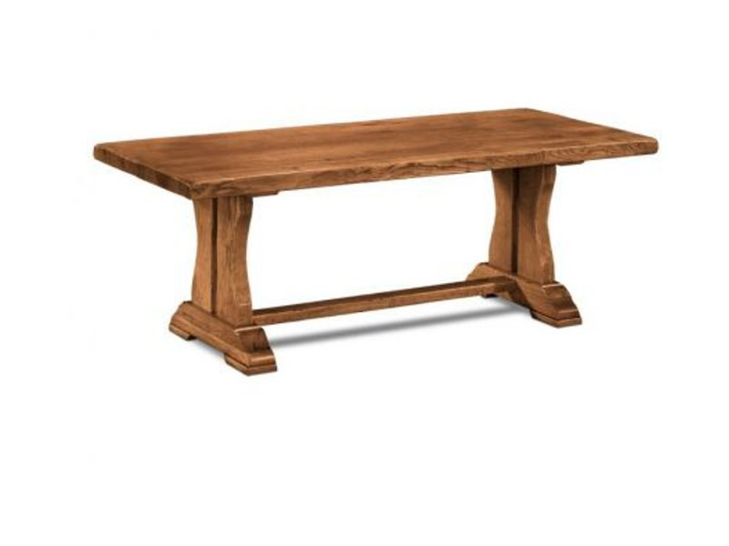 Rectangular wooden table POUTRE - Domus Arte