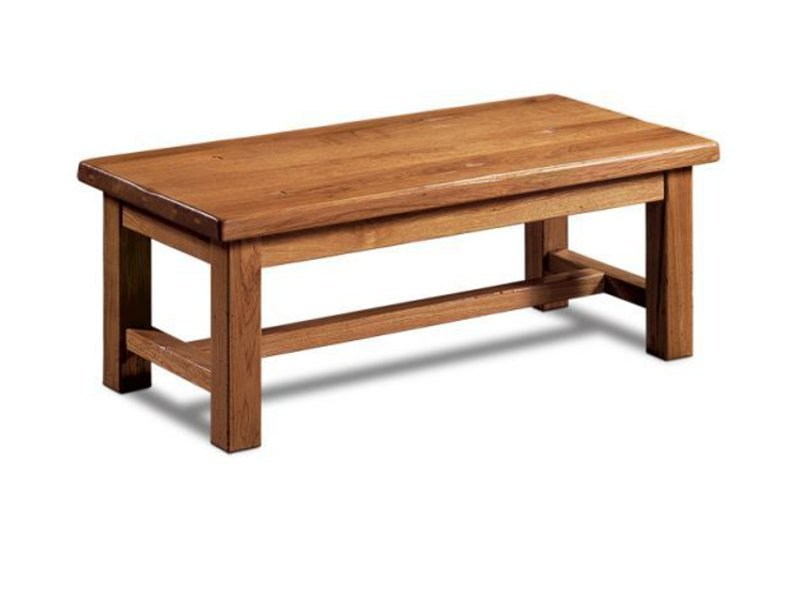 Rectangular wooden coffee table FERME | Rectangular coffee table - Domus Arte