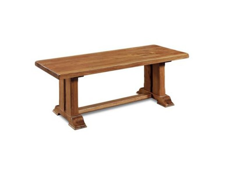 Rectangular wooden table ALSACE | Table - Domus Arte
