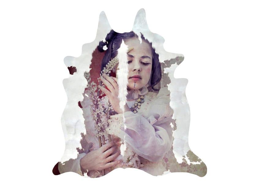 Patterned rug RENAISSANCE COWHIDE - Mineheart