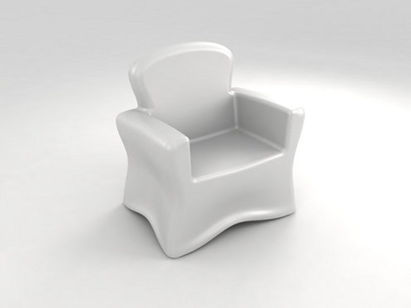 Brujo Armchair - Opal Color - Optional illumination